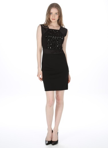 Morgan Elbise Siyah